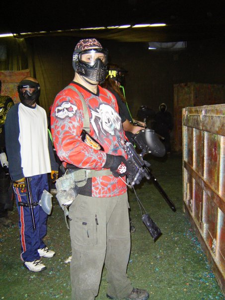 Mr playing some indoor paintball...  I don't bite, honest.
