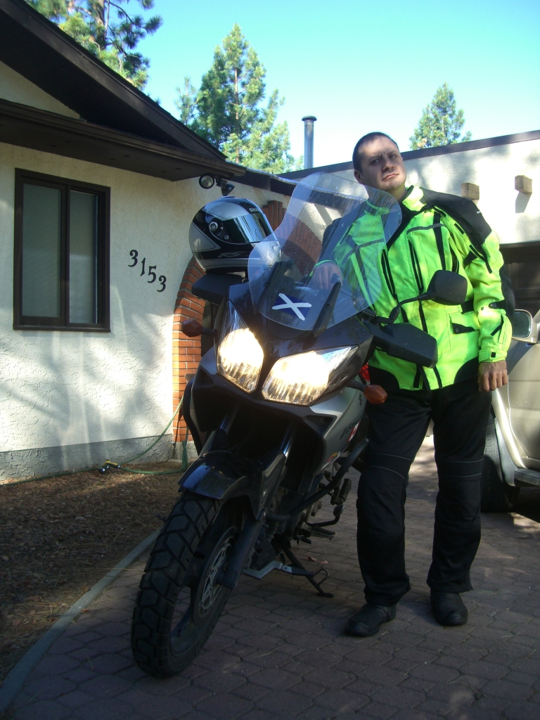 Getting ready for the long ride back to Mississauga, August 2011 - By my Sister in Law